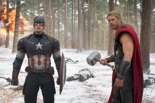 Capitan América y Thor