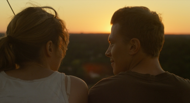Adèle Haenel and Kévin Azaïs in LOVE AT FIRST FIGHT